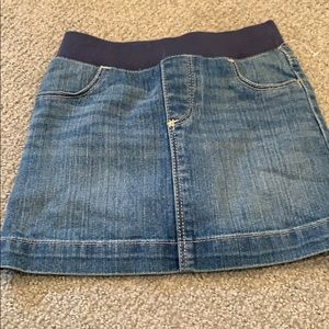 NWOT old navy girls skirt with shorts under